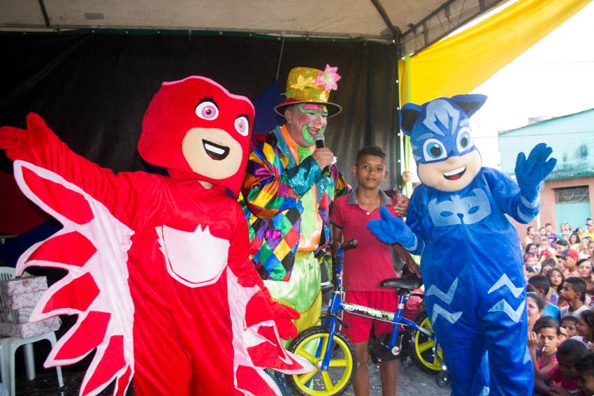 Prefeitura de Atalaia promove um domingo de muita alegria e diversão para as crianças e seus familiares