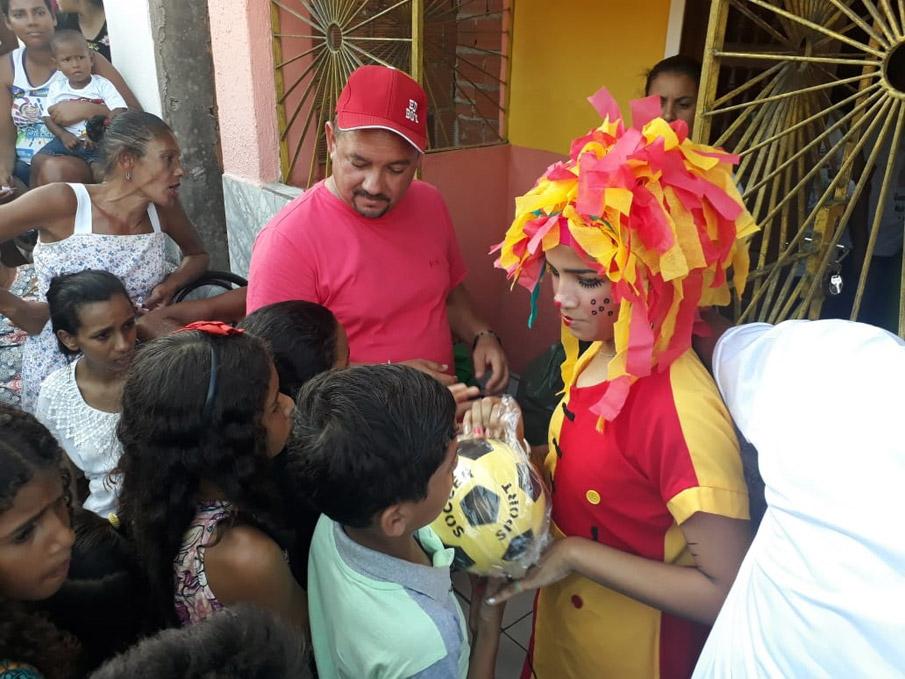 Vereador Quinho promove mais uma edição da festa do Dia das Crianças no Alto do João Miranda