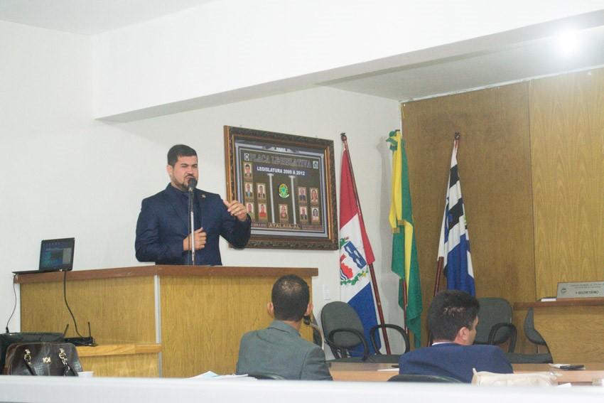 Sessão Ordinária da Câmara Municipal de Atalaia do dia 16 de outubro de 2018