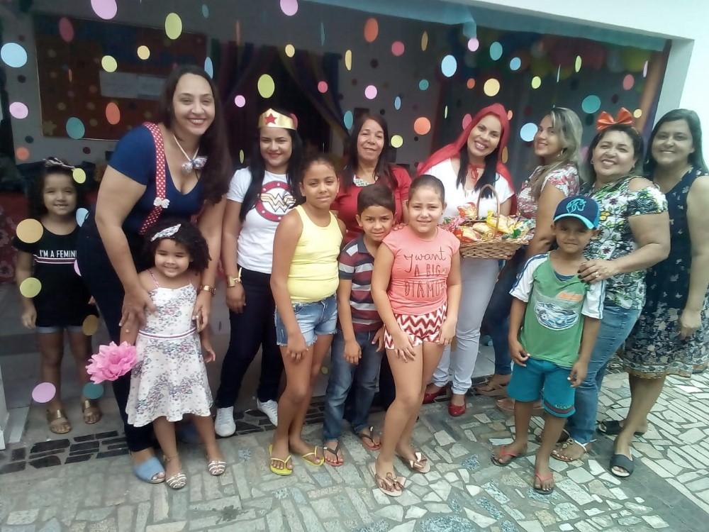 UBS José Paulino promove linda festa para as crianças da região