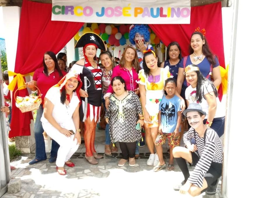 UBS José Paulino promove linda festa para as crianças atendidas por aquela unidade.