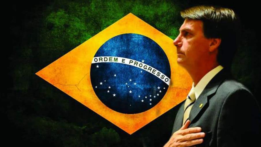 Jair Messias Bolsonaro é eleito o 38º Presidente do Brasil.