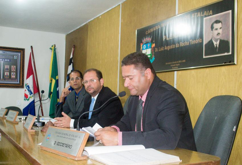 Sessão Ordinária da Câmara Municipal de Atalaia do dia 30 de outubro de 2018