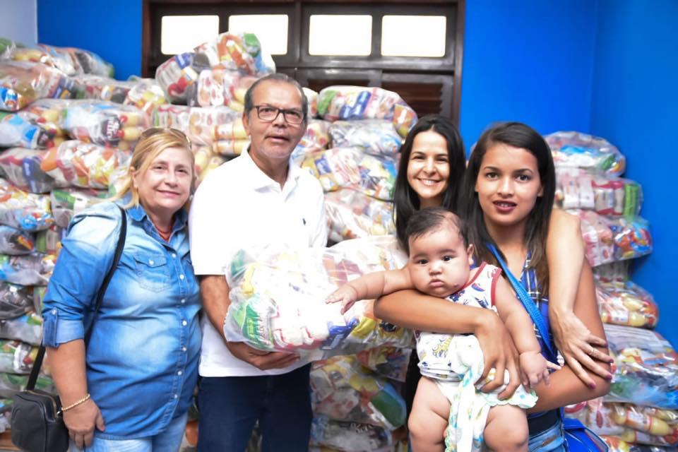 Prefeitura de Atalaia realiza a entrega de 512 cestas nutricionais para gestantes e nutrizes do município