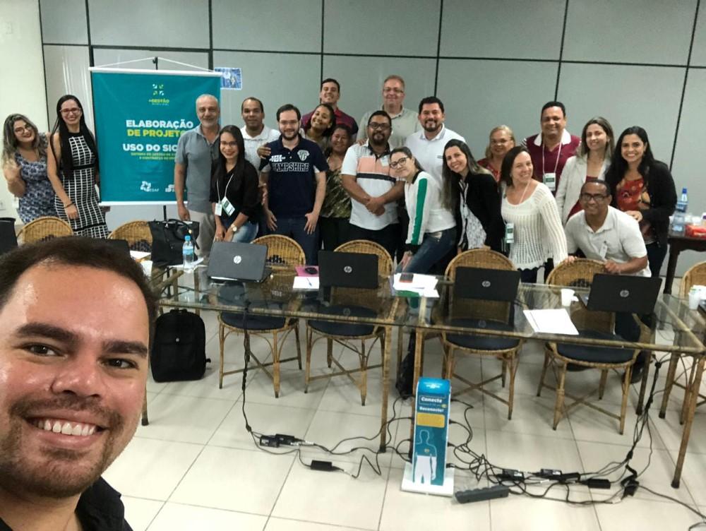 Assessor técnico da AMA, Francisco Batinga participa de curso de Elaboração de Projetos e SICONV