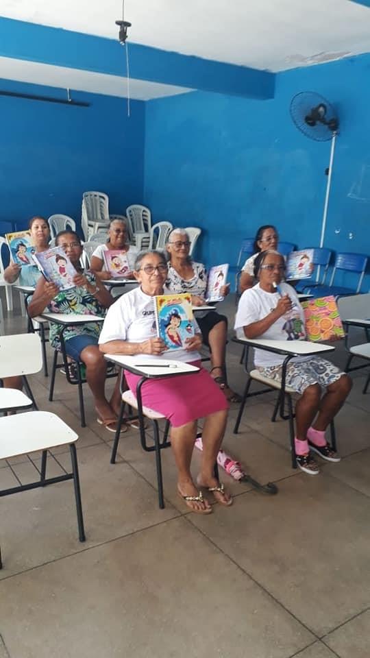 Grupo da Terceira Idade tem sala exclusiva para aulas da EJA em Atalaia