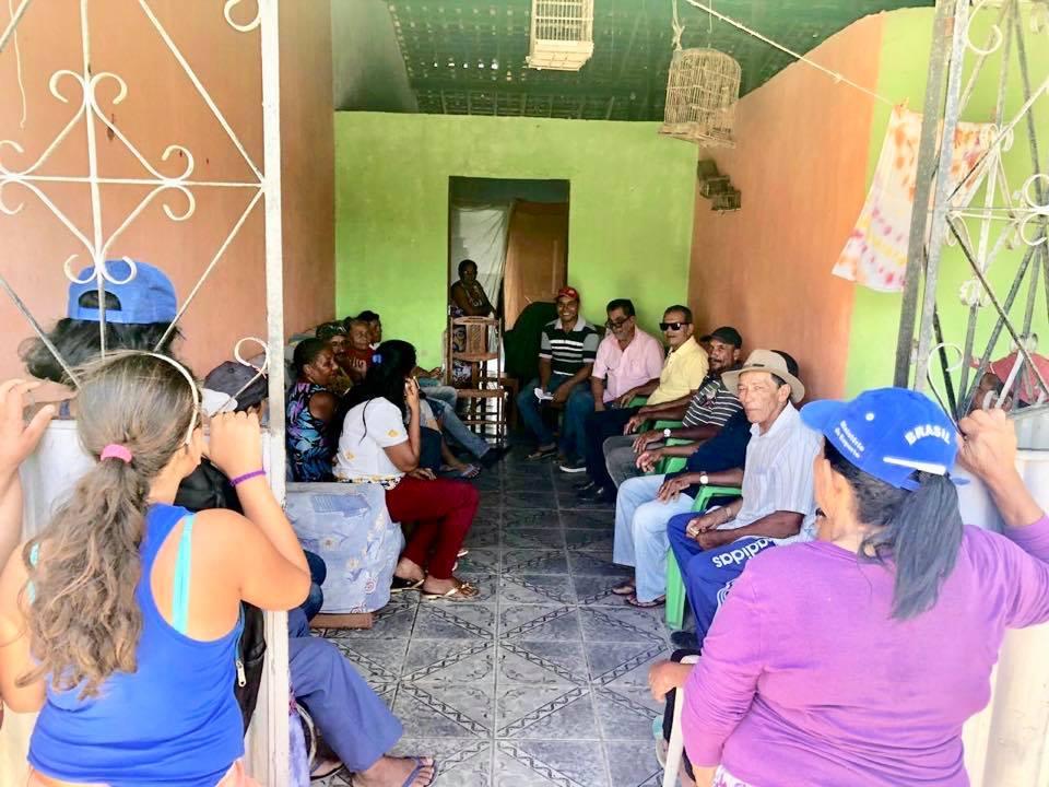 Prefeito Chico Vigário se reúne com representantes dos Assentamentos do Distrito Ouricuri