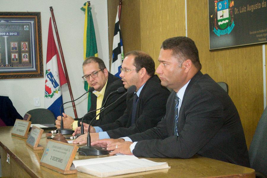 Sessão Ordinária da Câmara Municipal de Atalaia do dia 13 de novembro de 2018