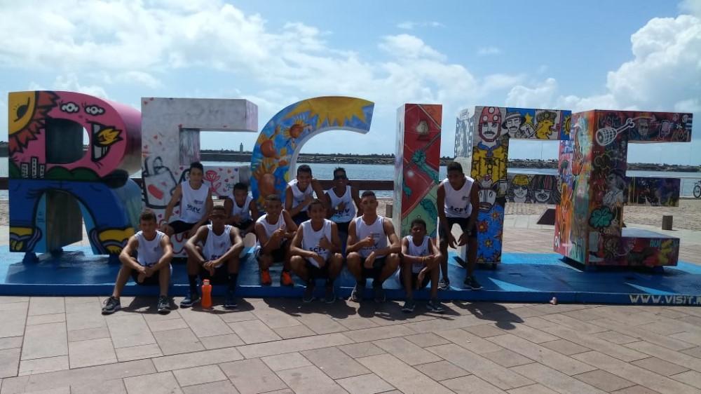 Jovens do SCFV de Atalaia conquistam 10 medalhas no Festival Pernambucano de Atletismo CAIXA