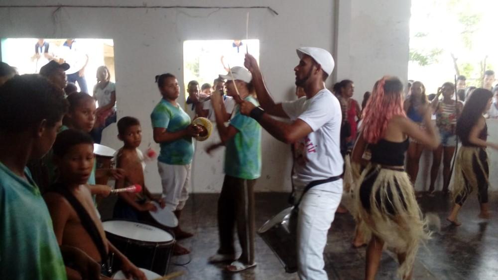 Na Semana da Consciência Negra, Projeto AFRO-JOVEM realiza apresentações em Escolas de Atalaia