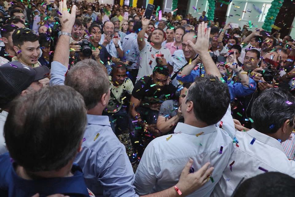 Prefeito Chico Vigário participa de convenções do MDB e do PP em Maceió
