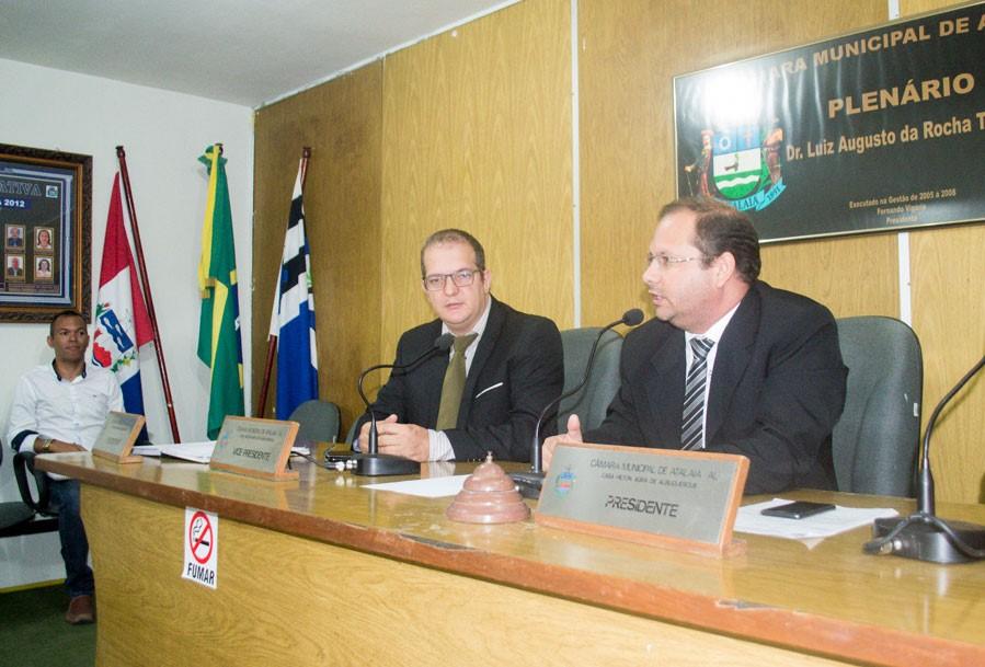 Sessão Ordinária da Câmara Municipal de Atalaia do dia 27 de Novembro de 2018