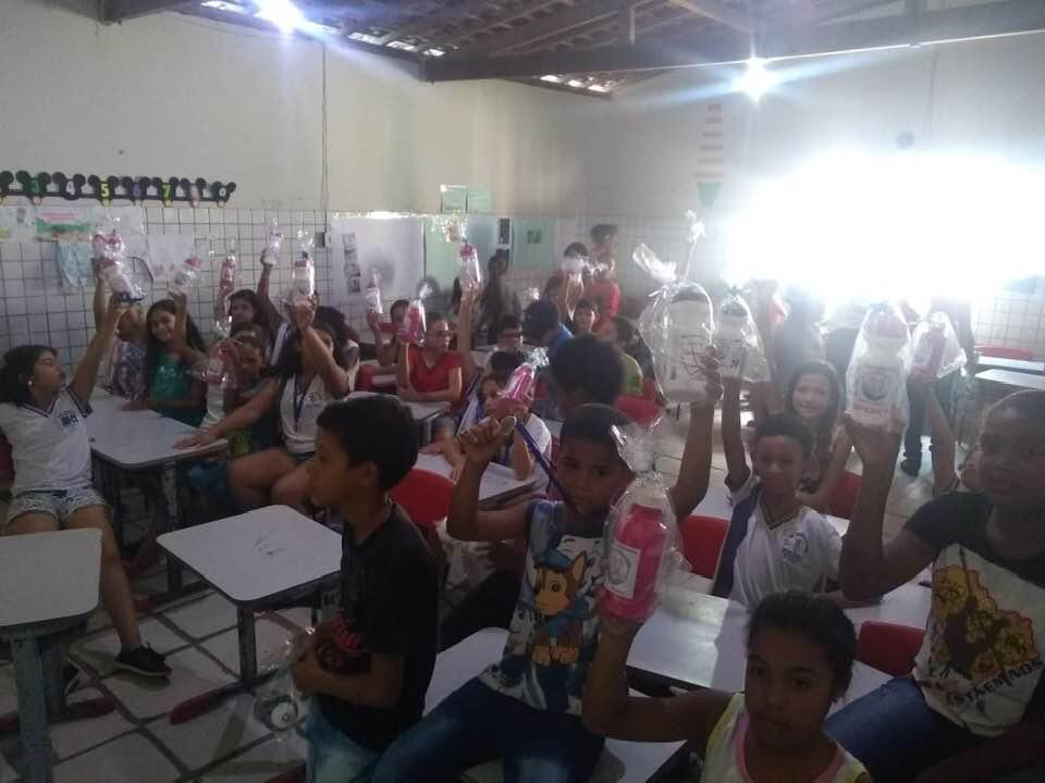 Escola José Martins de Almeida é uma das contempladas com projeto do CREAS Atalaia.