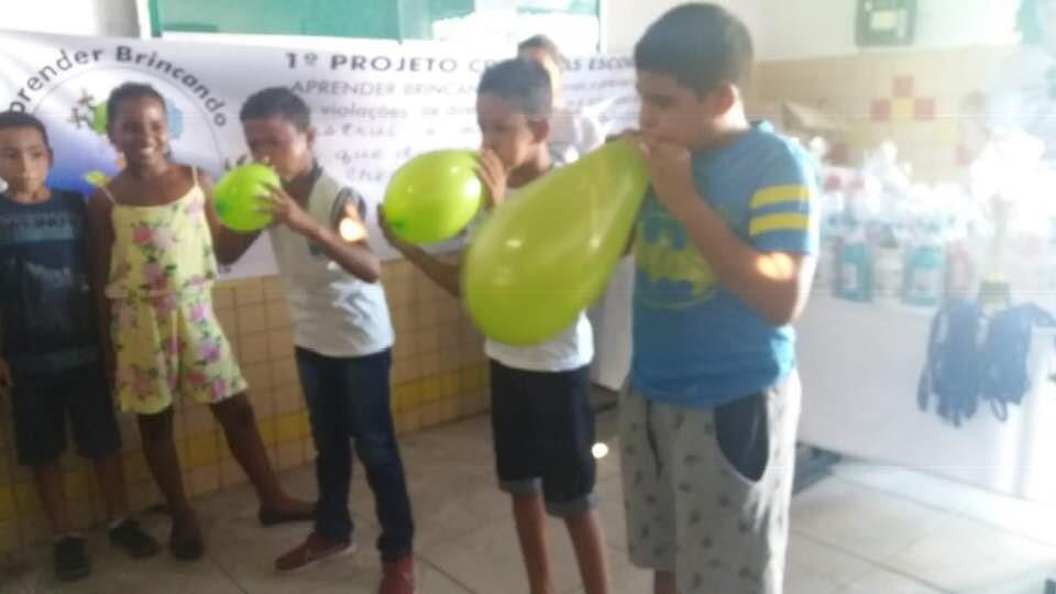 Escolas do Distrito Branca recebem ações do projeto CREAS nas Escolas, com o tema Aprender Brincando