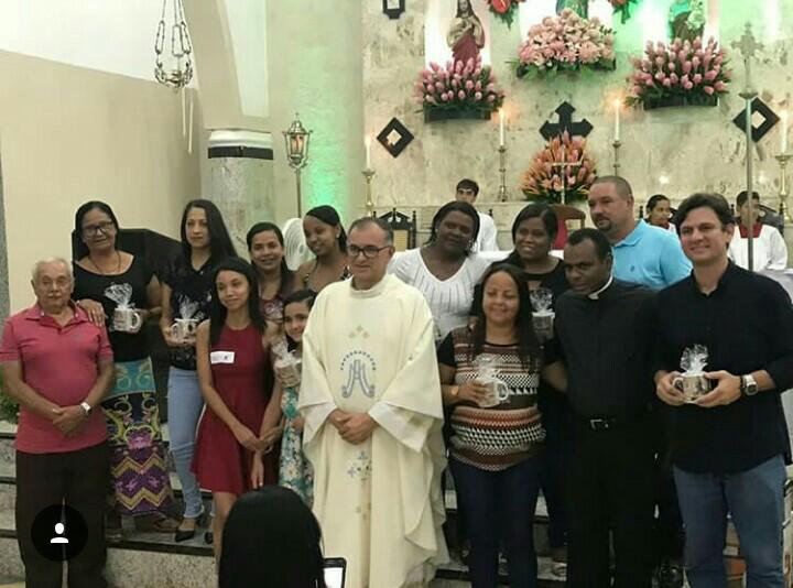 Marcelo Beltrão prestigia a 6ª noite da Festa de Nossa Senhora da Conceição, em Atalaia