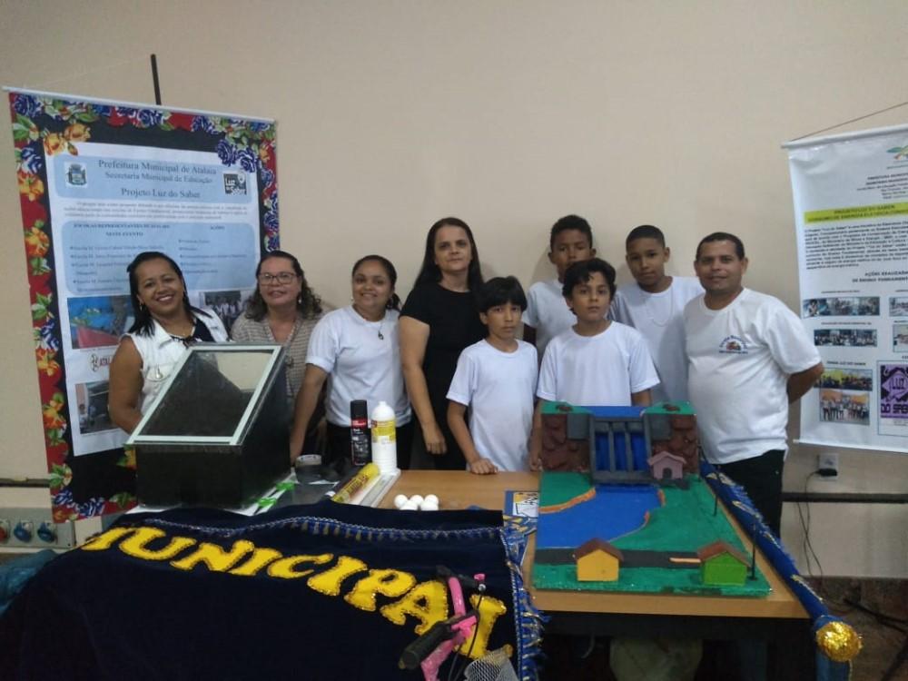 Escolas da rede municipal de Atalaia são premiadas em culminância do Projeto Luz do Saber, em Maceió