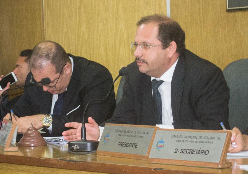 Sessão Ordinária da Câmara Municipal de Atalaia dia 11 de dezembro de 2018