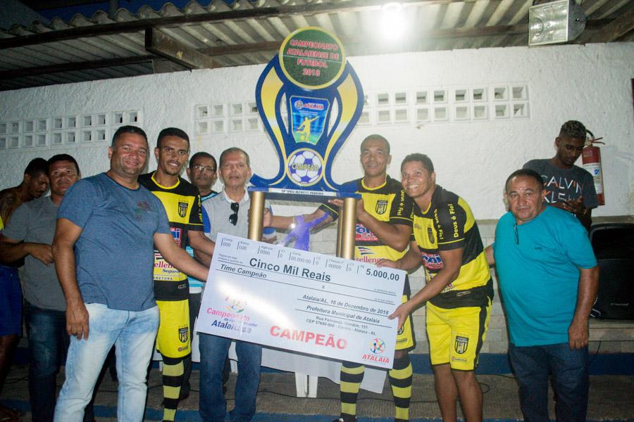 Vira Copo conquista o título do Campeonato Atalaiense de Futebol 2018