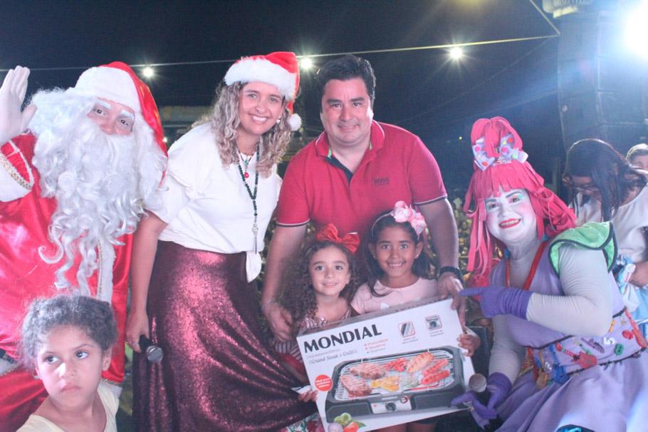 II natal Solidário trouxe alegria e emoção para centenas de famílias de Atalaia.