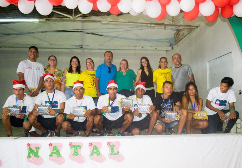 Assistência Social promove Comemoração Natalina para os usuários do SCFV e do Programa Criança Feliz