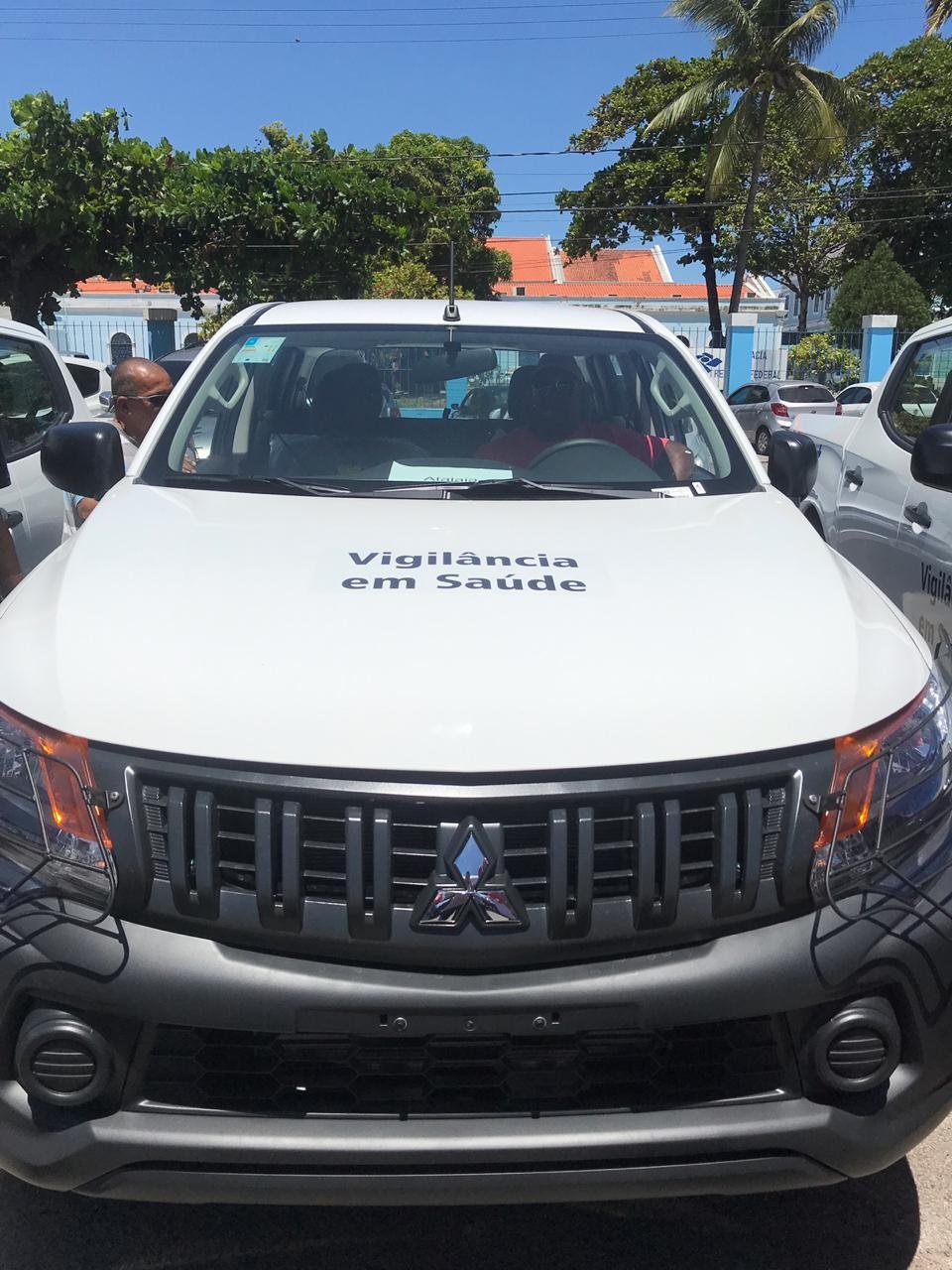 Atalaia é contemplada com mais um automóvel 0km para atender a Saúde do município