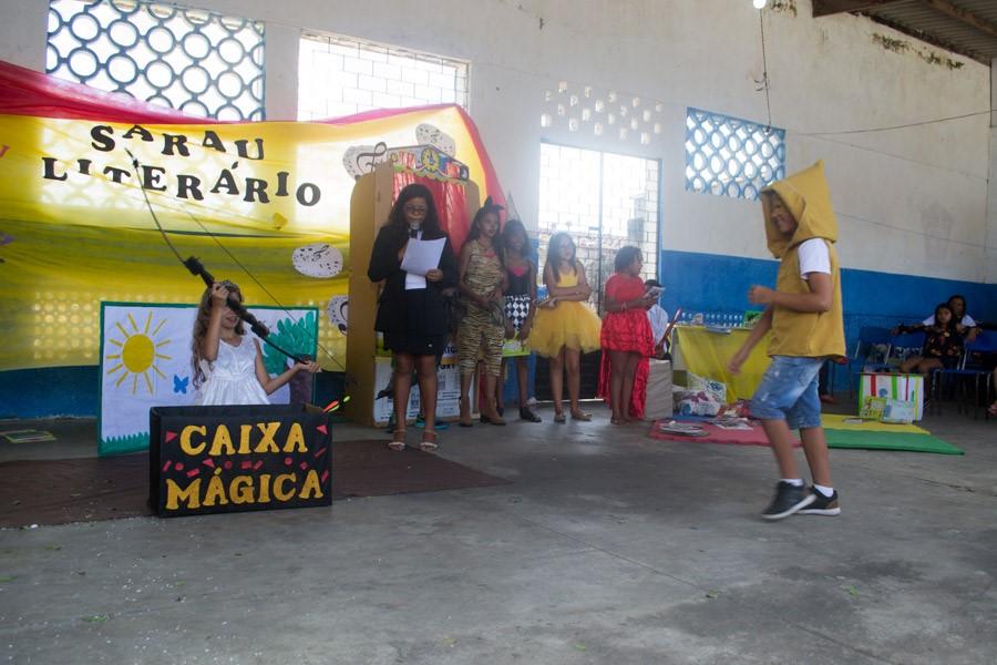Prefeitura de Atalaia realiza o encerramento das atividades do Programa Novo Mais Educação em 2018