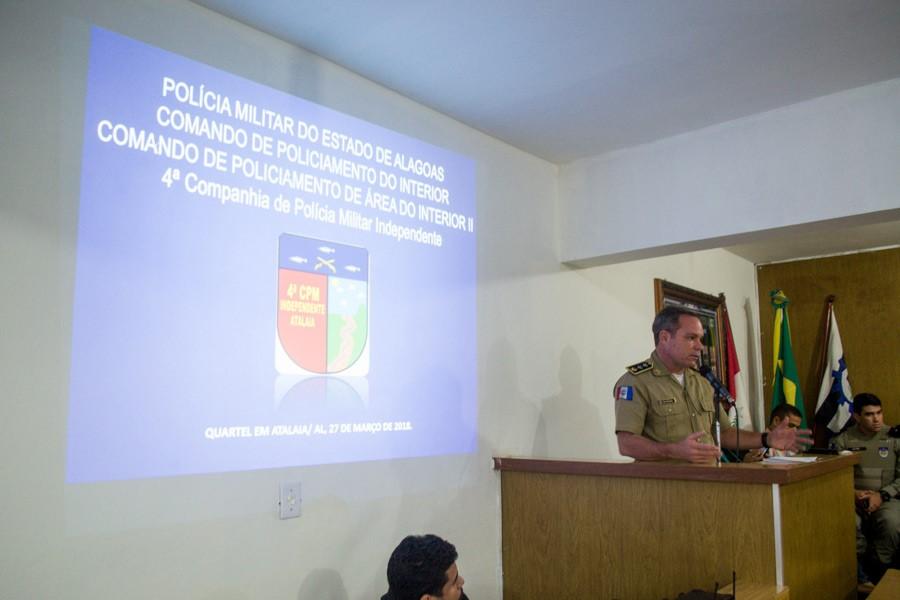 Vereador Toni Barros convoca Comandante da 4ª Cia para apresentar as ações de segurança pública em Atalaia
