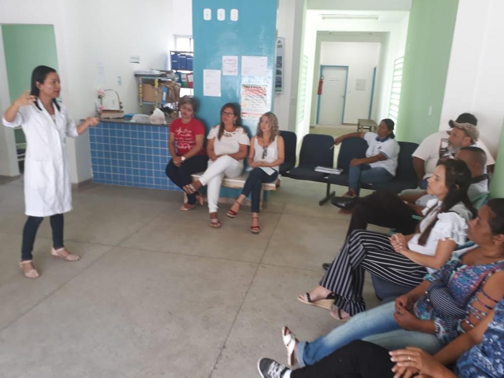 "NASF dá inicio ao projeto ""Cuidando do Cuidador"" no Distrito Branca"