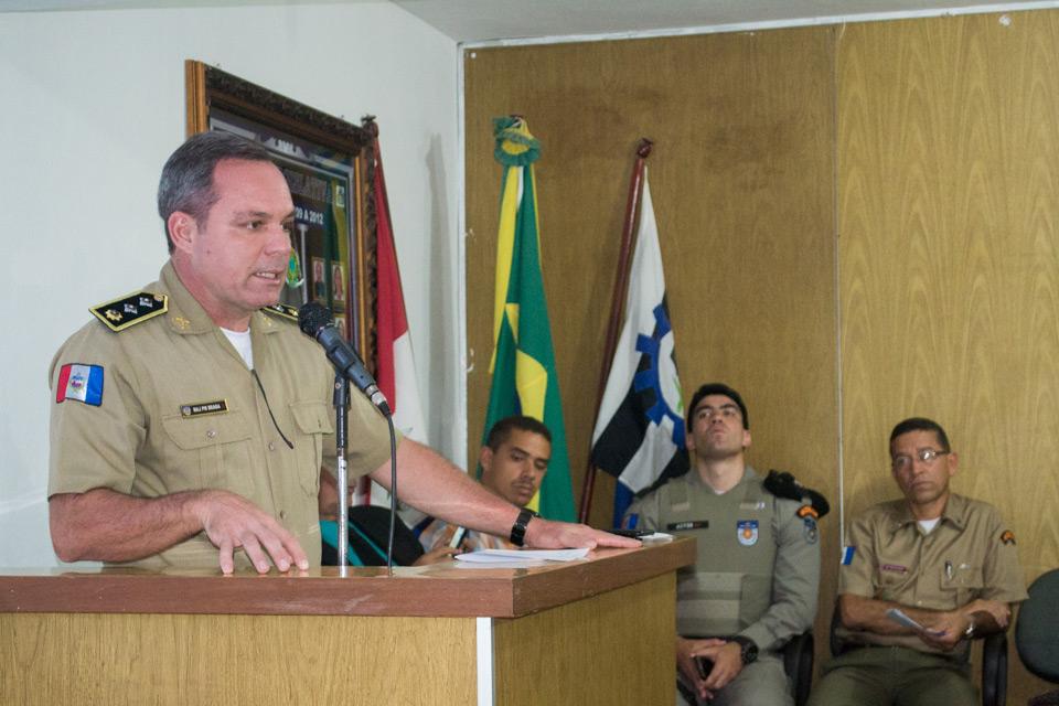 Comandante destaca empenho do prefeito Chico Vigário na implantação da Força Tarefa em Atalaia