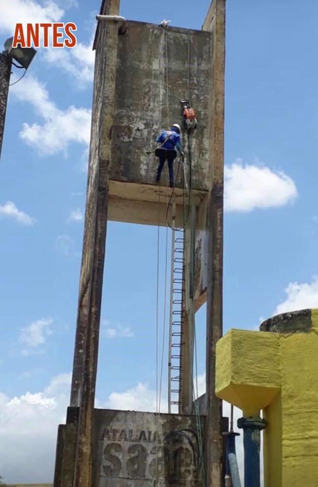 Prefeitura e SAAE vem trabalhando para melhorar cada vez mais o abastecimento de água em Atalaia