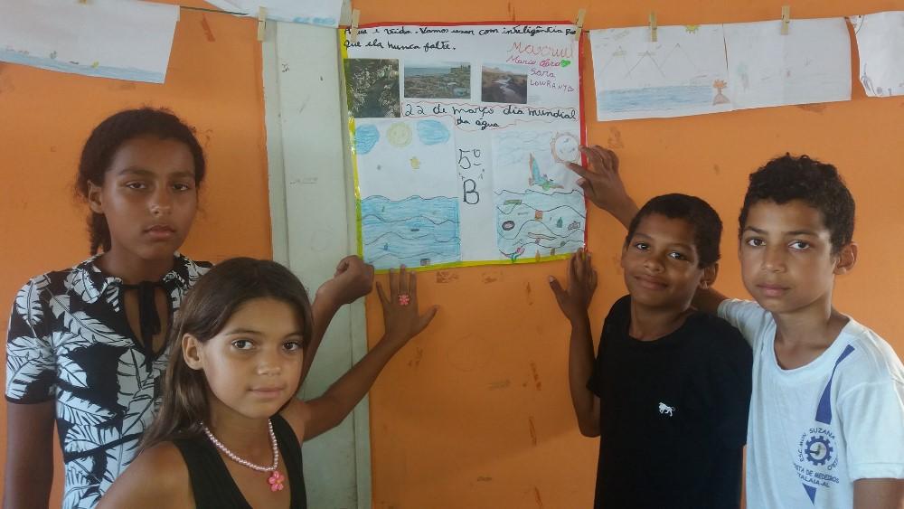 Escola Suzana Craveiro promove ação de conscientização no Dia Mundial da Água