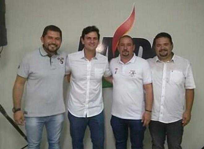 Marcelo Beltrão se filia ao MDB.
