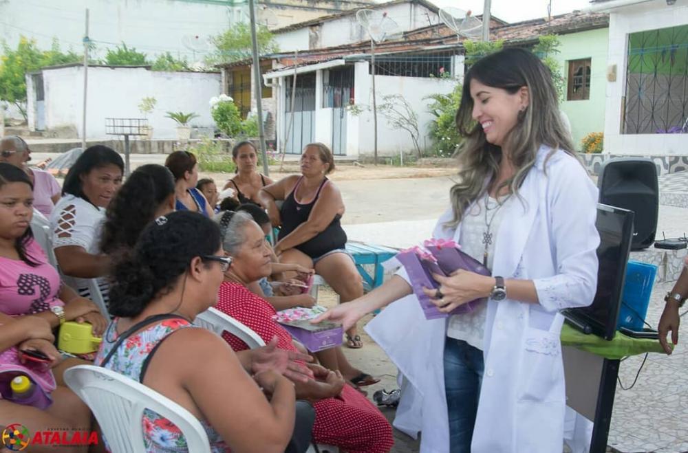 CREAS e Saúde promovem evento de alerta sobre os altos índices de violência doméstica em comunidades do município