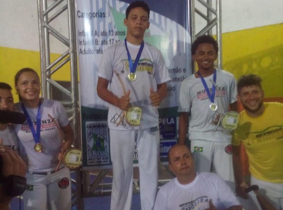 Capoeiristas de Atalaia são destaques na 1º edição dos Jogos Interestaduais de Capoeira