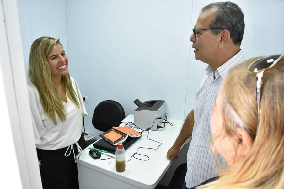 Prefeito acompanha as ações do Programa Expresso da Cidadania em Atalaia