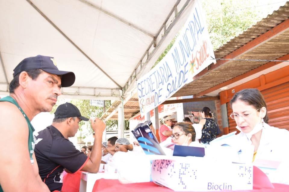 Caravana da Saúde leva atendimentos à população do bairro José Paulino