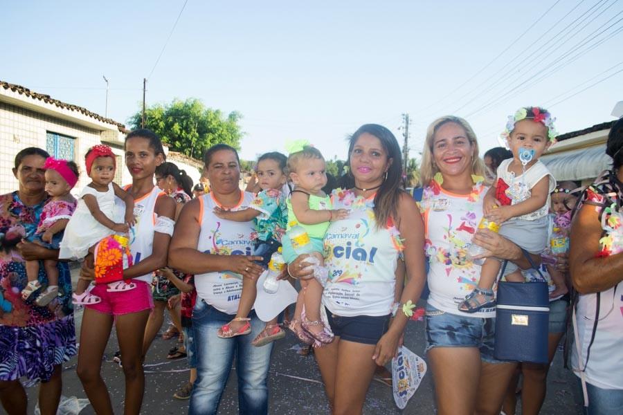 Secretaria de Assistência Social de Atalaia promove mais uma edição do Carnaval Social