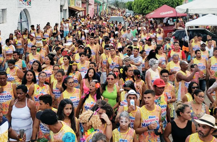 Bloco Amigos de Marivaldo anima o Carnaval no Povoado Porangaba