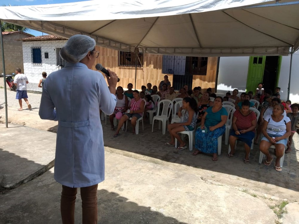 Creas de Atalaia realiza ações alusivas ao mês das mulheres