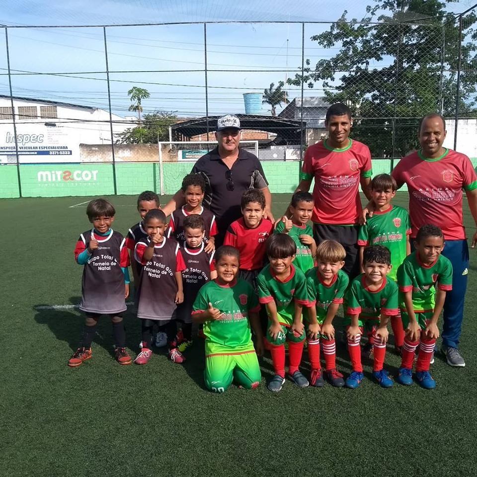 Escolinha Arena Santo Amaro participa do Festival Brasileirinho de Futebol