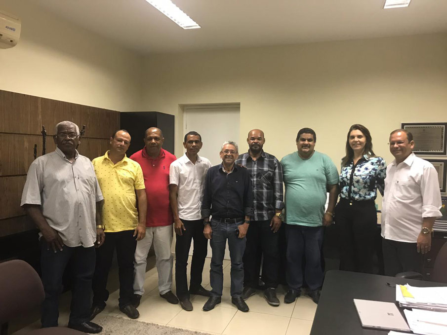 Vereador Alexandre Tenório acompanhou a reunião.
