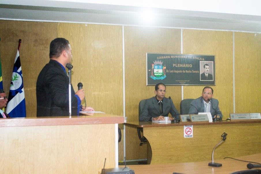 Sessão da Câmara Municipal de Atalaia do dia 16 de abril de 2019