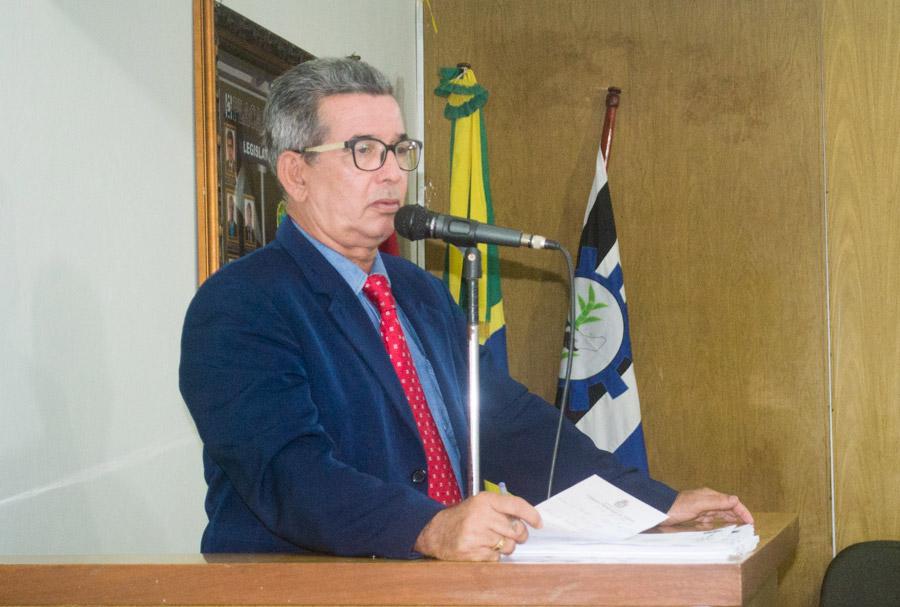 Vereador Fernando Vigário.