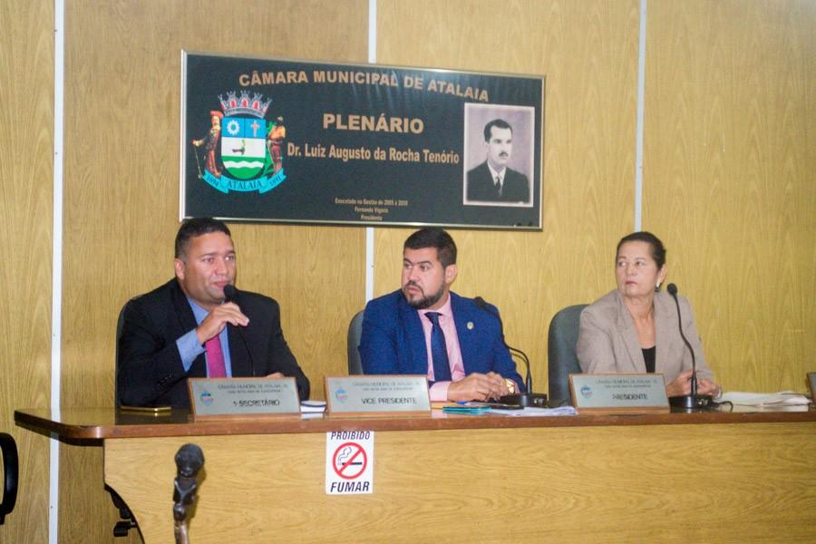 Sessão da Câmara Municipal de Atalaia - dia 30 de Abril de 2019