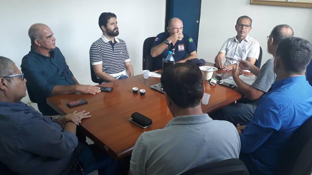 Prefeito e secretários se reuniram com técnicos da FUNRIO.