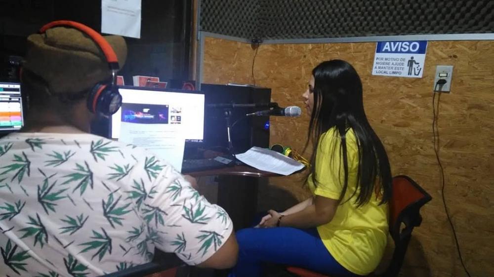 Campanha teve inicio com uma participação na Rádio Atalaia FM.