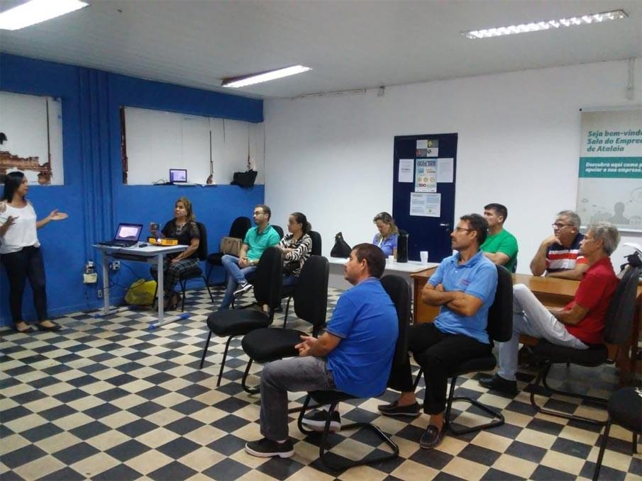 Casa do Empreendedor recebe oficina do Sebrae visando ampliar os serviços oferecidos em Atalaia