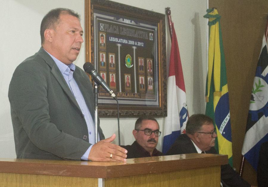 Presidente da UVEAL - Fabiano Leão (vereador de Arapiraca)