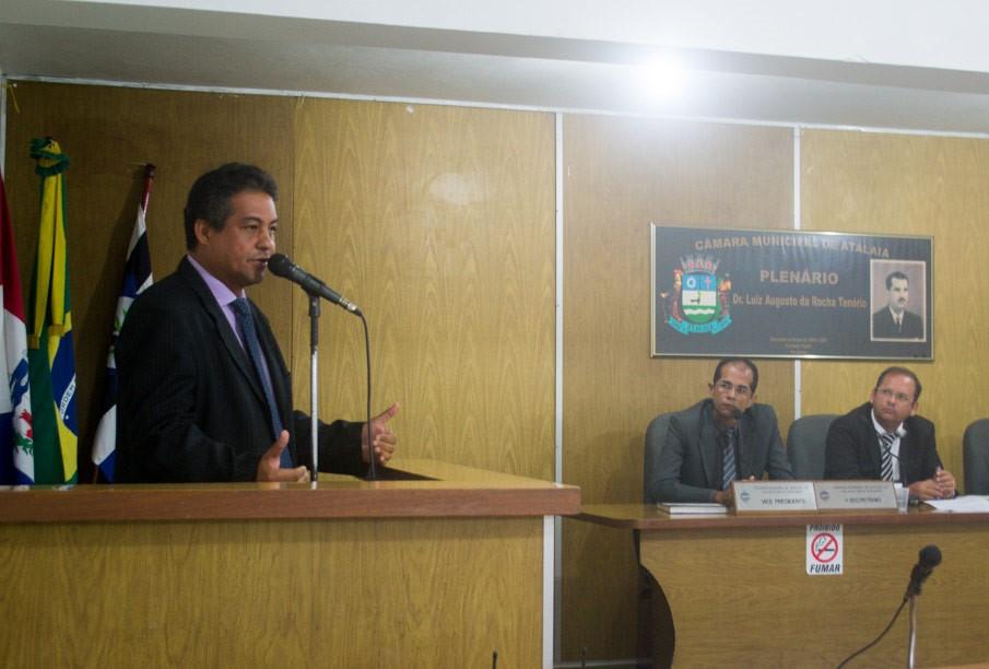 Sessão da Câmara Municipal de Atalaia do dia 21 de maio de 2019