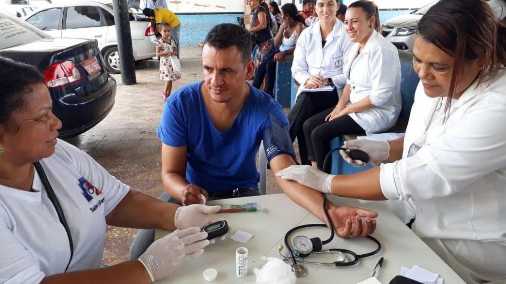 Secretaria Municipal de Saúde de Atalaia realiza ação na Rodoviária Municipal